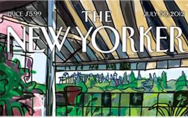 Mariscal diseña la portada del último número de The New Yorker