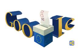 Google anima con su doodle a votar en las elecciones del Parlamento Europeo