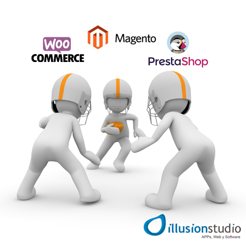 Montar una tienda online: ¿Prestashop, Woocomerce o Magento?