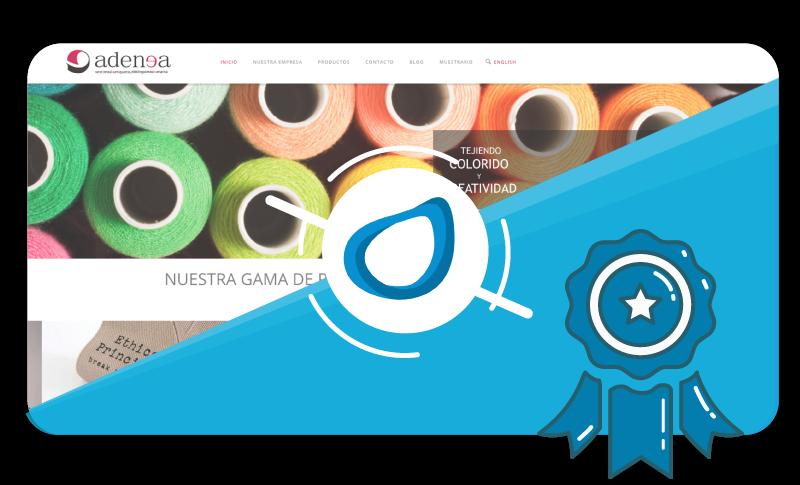 Caso de éxito Proyecto de Diseño Web Adenea