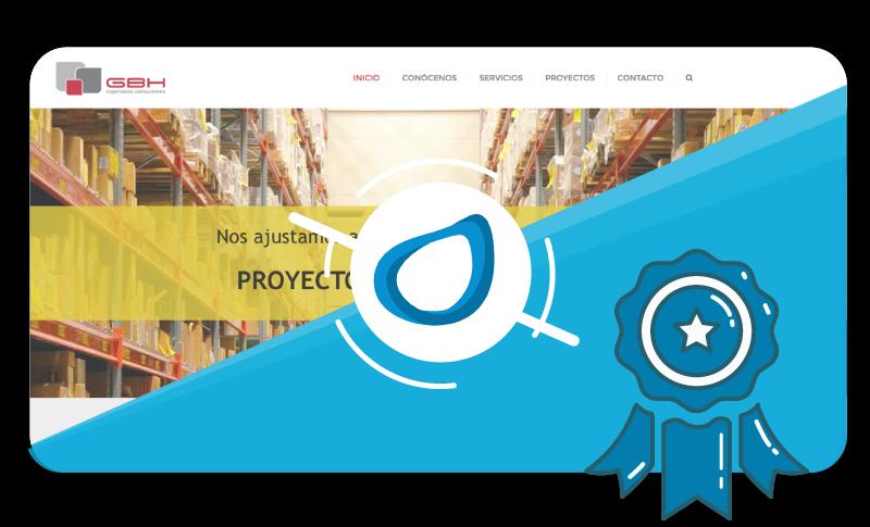 Caso de éxito Proyecto de Diseño Web GBH Consultores