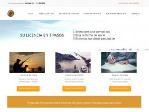 Nuevo proyecto de Tienda Online Licencias Caza Pesca