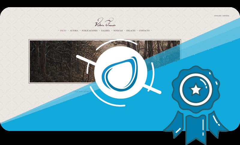 Caso de éxito Diseño Web Victoria Francés