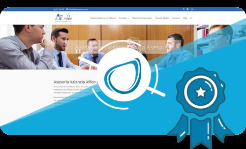 Caso de éxito Diseño Web Afilco Asesores