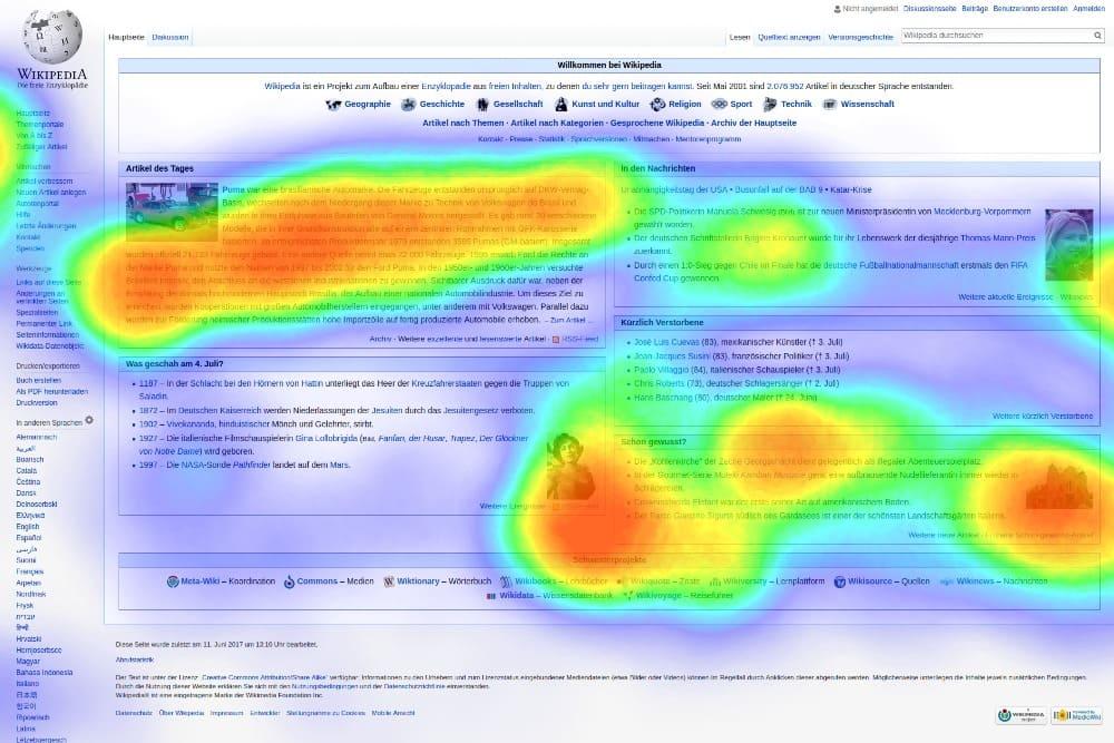 Mapas de calor: ¿qué son y cómo pueden ayudarte a mejorar tu web?