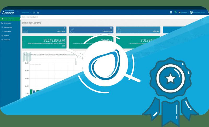 Caso de éxito Software a medida Web Cliente Aranco