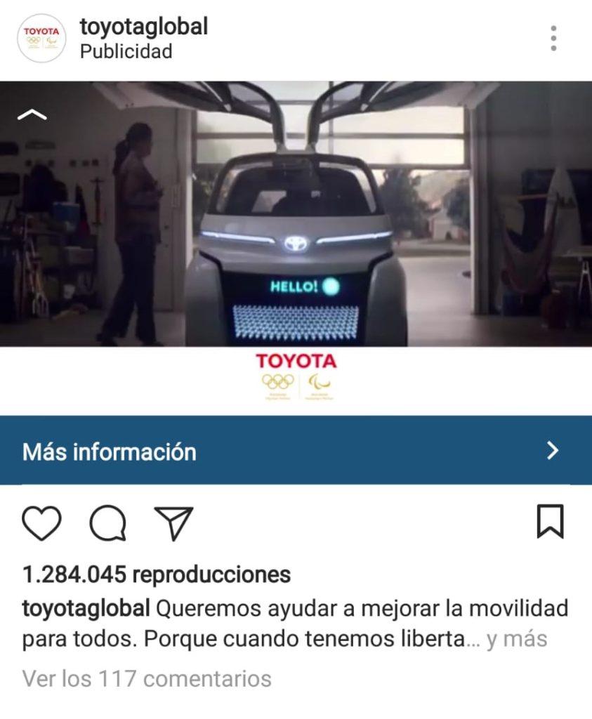 Publicidad en Instagram - tipos de anuncios