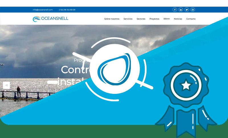 Nuevo proyecto web a medida Oceansnell