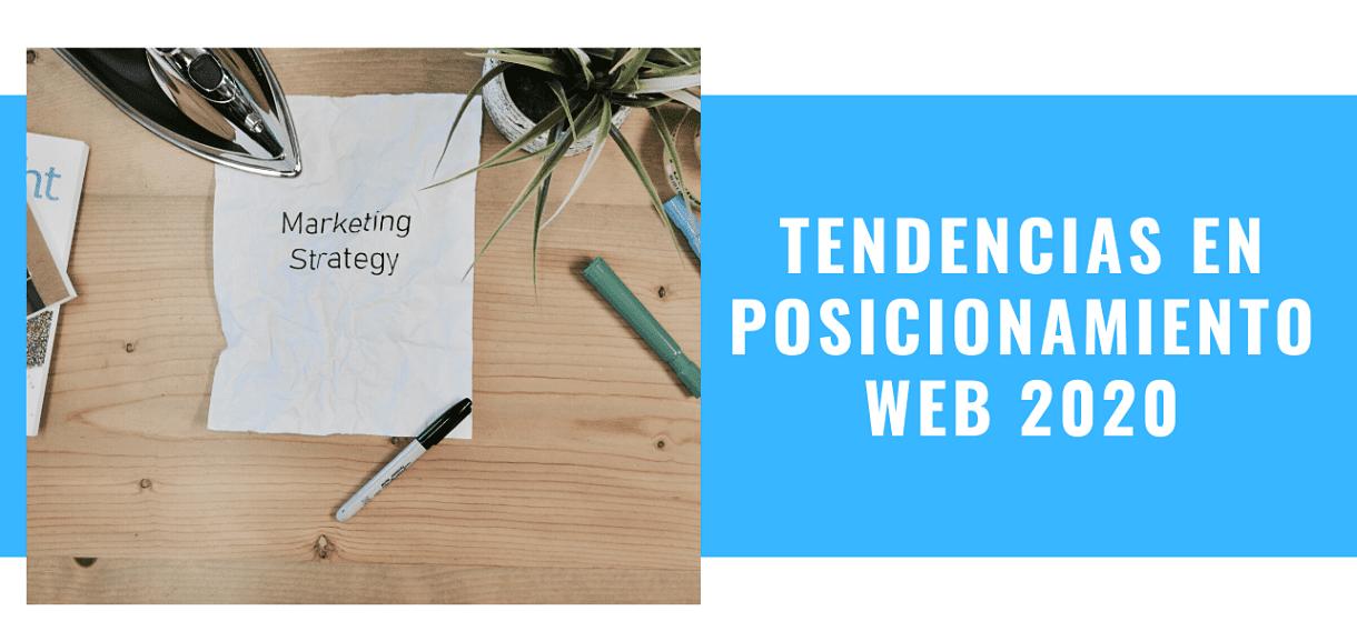 Tendencias en Posicionamiento Web 2020
