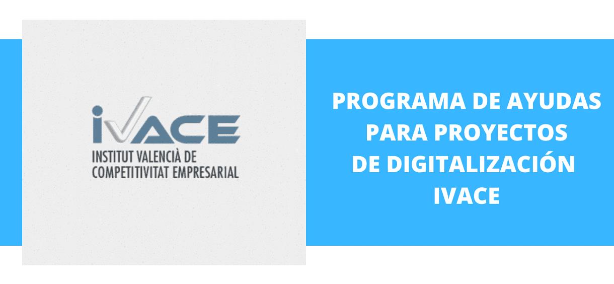 Programa de ayuda para proyectos de digitalización