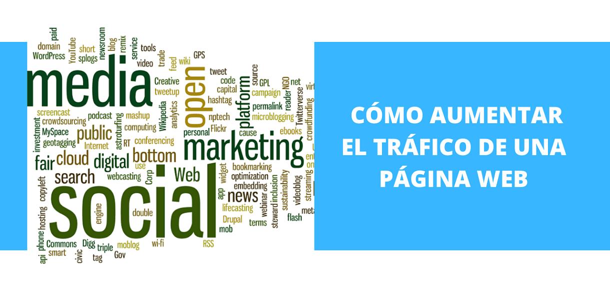 Cómo aumentar el tráfico de una Página Web